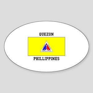 Quezon Phillippines Sticker
