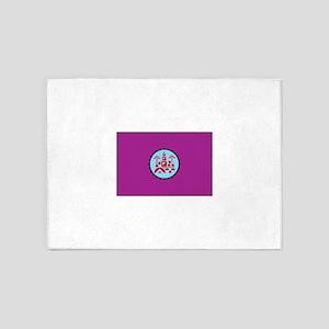 Cordoba, Spain Flag 5'x7'Area Rug