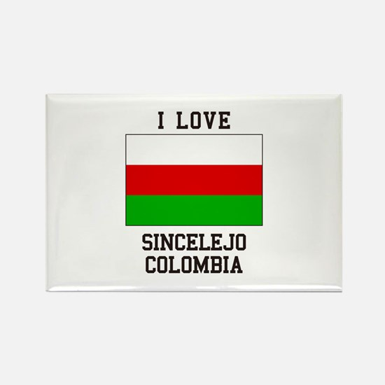 I Love Sincelejo Colombia Magnets