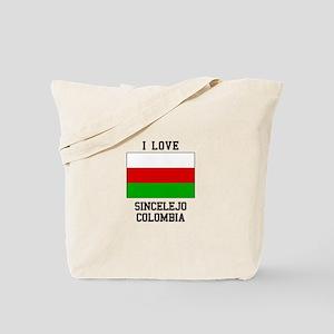 I Love Sincelejo Colombia Tote Bag