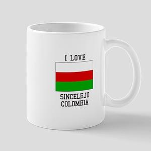 I Love Sincelejo Colombia Mugs