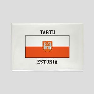 Tartu, Estonia Flag Magnets