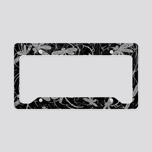 Dragonfly Night Flit License Plate Holder