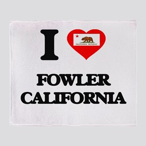 I love Fowler California Throw Blanket
