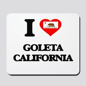 I love Goleta California Mousepad