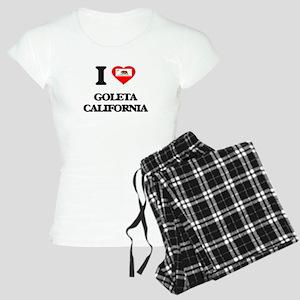 I love Goleta California Women's Light Pajamas