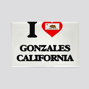 I love Gonzales California Magnets