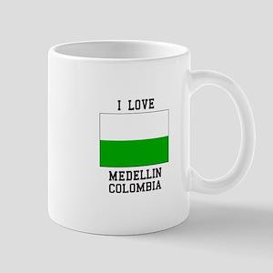 I Love Medellin Mugs