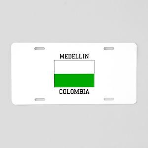 Medellin Colombia Aluminum License Plate