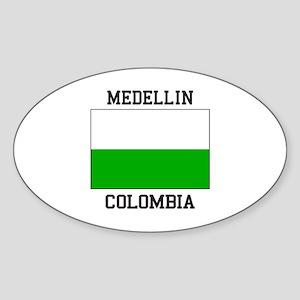 Medellin Colombia Sticker