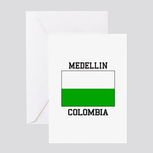 Medellin Colombia Greeting Cards
