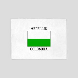 Medellin Colombia 5'x7'Area Rug