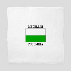 Medellin Colombia Queen Duvet