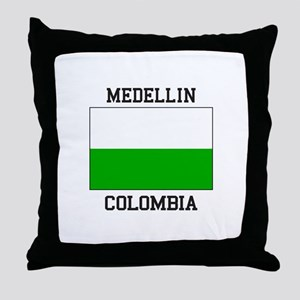 Medellin Colombia Throw Pillow