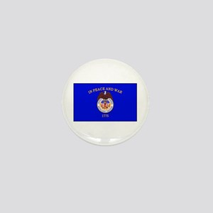 Merchant Marine Flag Mini Button