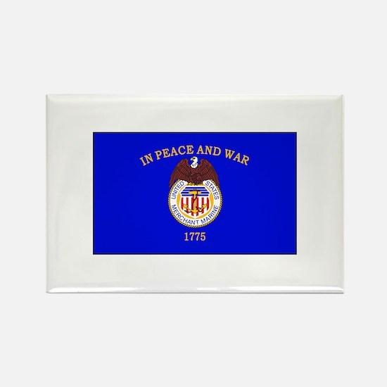 Merchant Marine Flag Magnets