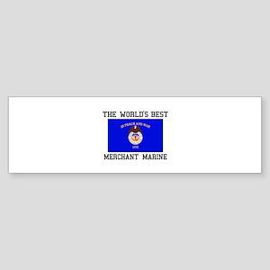 Best Merchant Marine Bumper Sticker