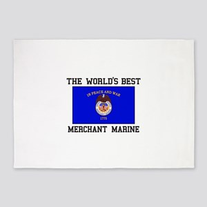 Best Merchant Marine 5'x7'Area Rug