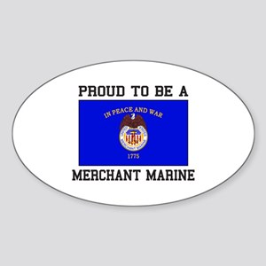 Proud to be a Merchant Marine Sticker