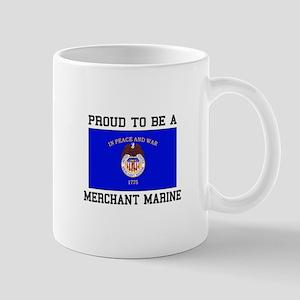Proud to be a Merchant Marine Mugs