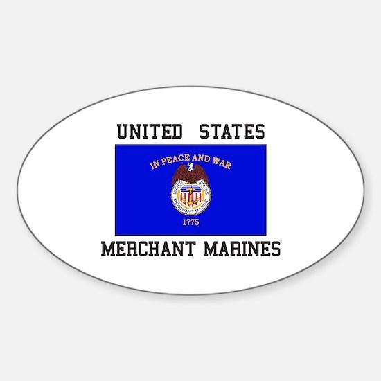 US Merchant Marine Decal