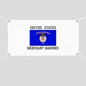 US Merchant Marine Banner