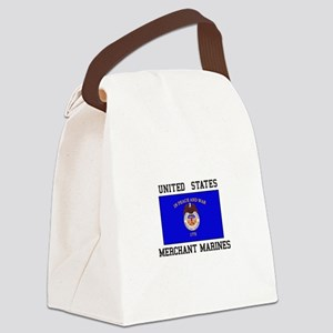 US Merchant Marine Canvas Lunch Bag