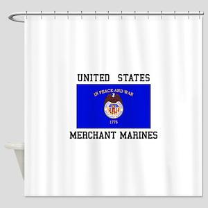 US Merchant Marine Shower Curtain
