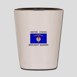 US Merchant Marine Shot Glass