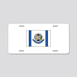 Gary Indiana Aluminum License Plate