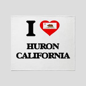 I love Huron California Throw Blanket