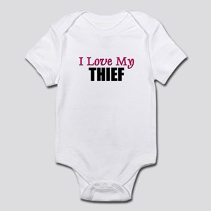 I Love My THIEF Infant Bodysuit