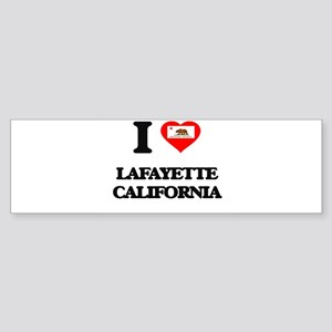 I love Lafayette California Bumper Sticker