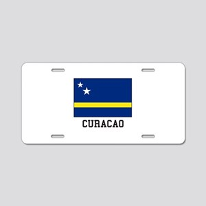 Curacao, Flag Aluminum License Plate