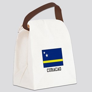 Curacao, Flag Canvas Lunch Bag
