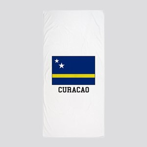 Curacao, Flag Beach Towel