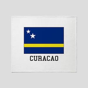 Curacao, Flag Throw Blanket