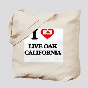 I love Live Oak California Tote Bag