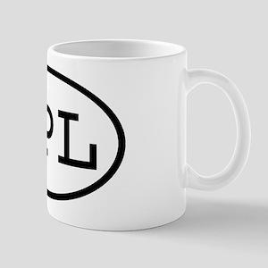 GPL Oval Mug