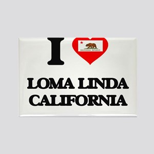 I love Loma Linda California Magnets
