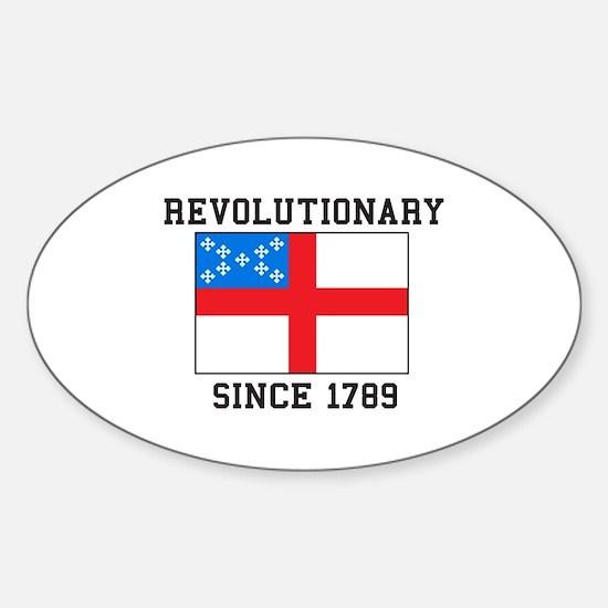 Revolutionary since 1789 Decal