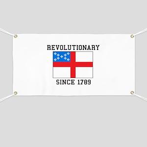 Revolutionary since 1789 Banner