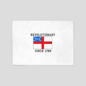 Revolutionary since 1789 5'x7'Area Rug