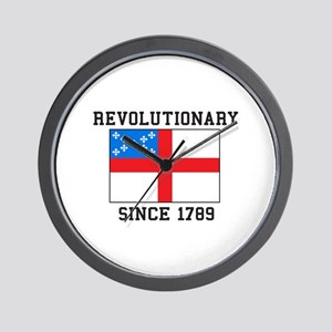 Revolutionary since 1789 Wall Clock