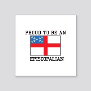 Proud be an Episcopal Flag Sticker