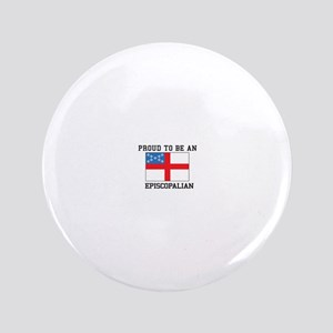 Proud be an Episcopal Flag Button