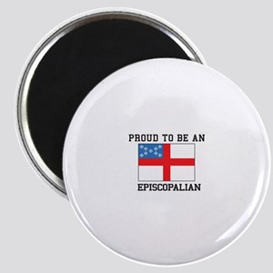 Proud be an Episcopal Flag Magnets