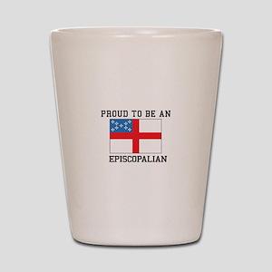 Proud be an Episcopal Flag Shot Glass
