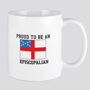 Proud be an Episcopal Flag Mugs
