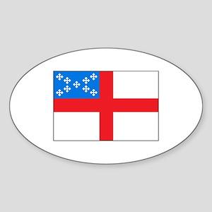Episcopal Flag Sticker